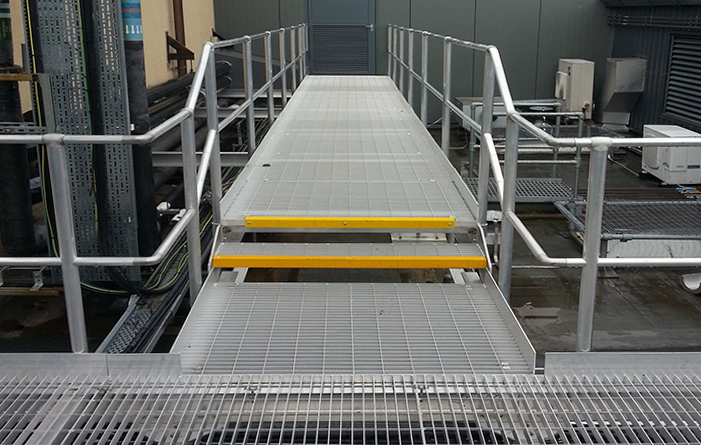 Lightweight roof top platform for hospital